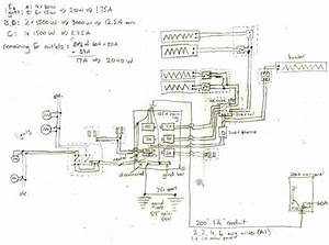 Feedback On Subpanel  Heating Circuits  Wiring Diagram  Parts List