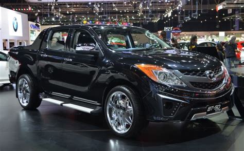 Mazda Bt-50 Thrilling With The Bling