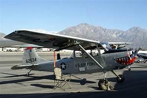 Cessna O-1E Bird Dog, Single-engine two-seat high-wing ...