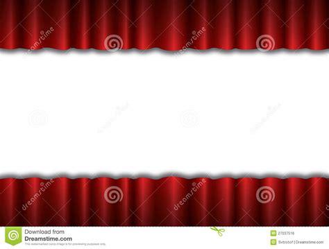 fond en soie de rideau en th 233 226 tre image libre de droits image 27037516