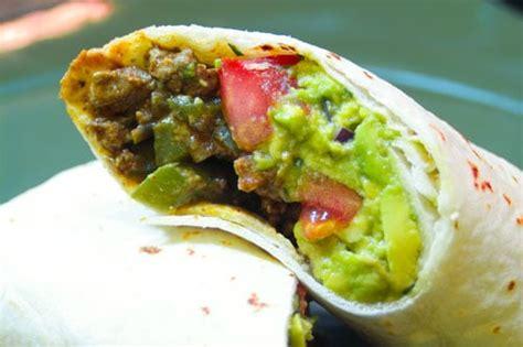 Eclectic Recipes Top Sirloin Carne Asada Burrito