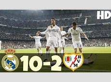 When Real Madrid scored 10 times in a Single Game Doovi