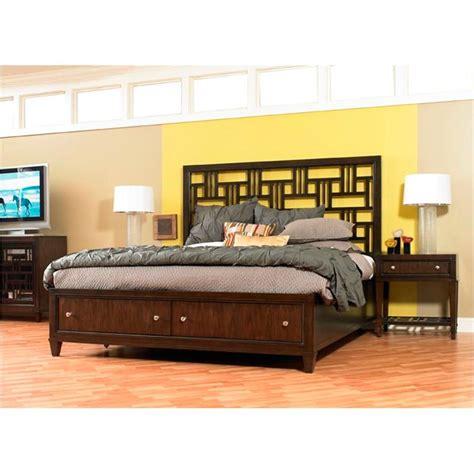 st hooker furniture queen fretwork bed
