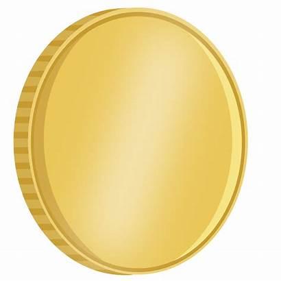 Coin Gold Clipart Coins Border Transparent Treasure