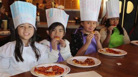 california pizza kitchen birthday party youtube