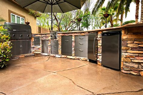 amenagement cuisine d ete outdoor kitchens elite pavers of ta bay