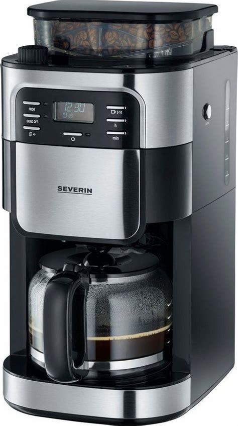 severin kaffeemaschine mit mahlwerk severin kaffeemaschine mit mahlwerk ka 4810 1 4l kaffeekanne permanentfilter 1x4 mahlwerk
