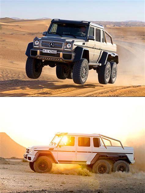 mercedes benz jeep 6 wheels mercedes benz g63 amg 6 x 6 unveiled might be ultimate