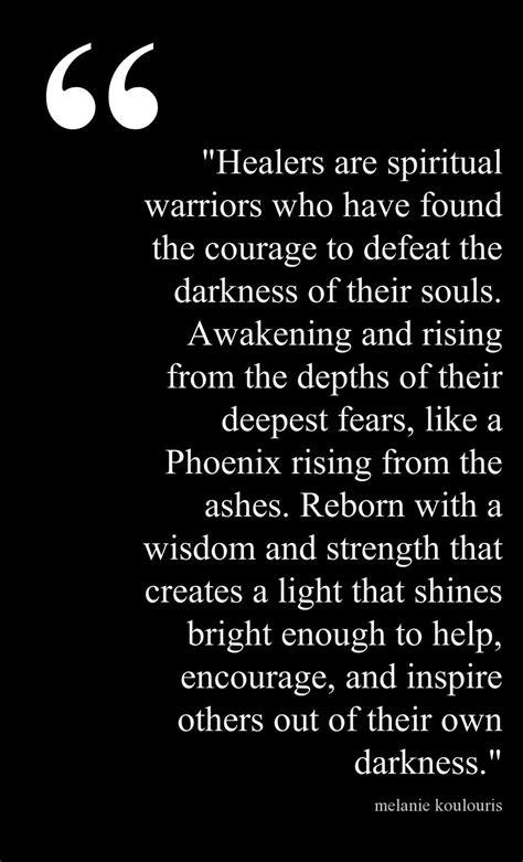 ~ Spiritual Healers ~ I believe that once we heal