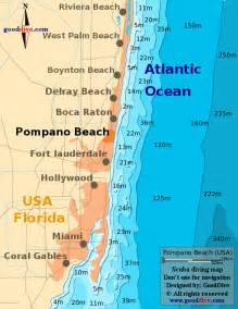 Pompano Beach Florida Map