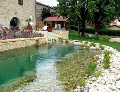 Swimming Pond : Benefits Of Natural Pool In The