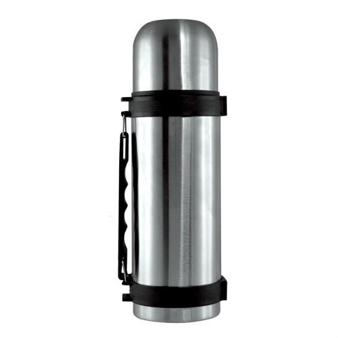 stainless steel 1 5l vacuum thermos flask 1 5 litre n cold flask ebay