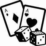 Dice Casino Svg Cards Icon Gambling Clipart