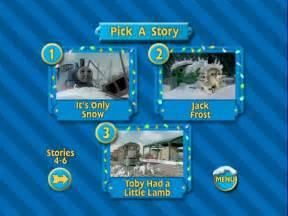 Thomas and Friends Snowy Surprise DVD Menu