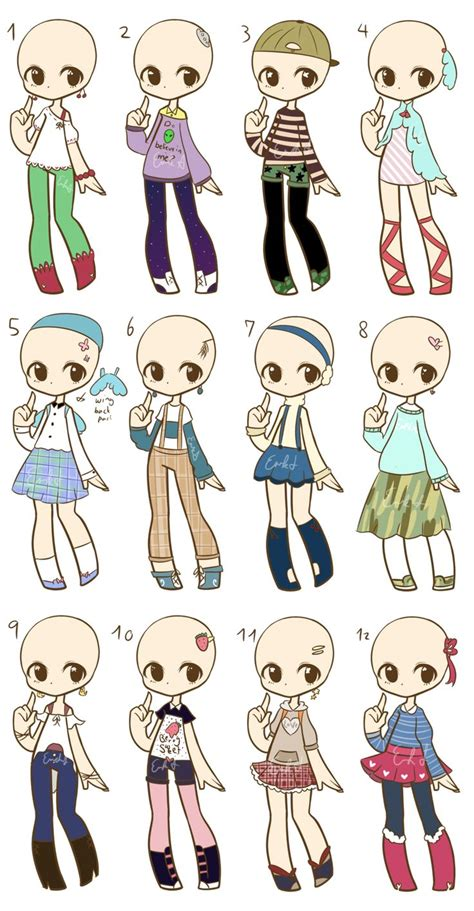 OTA Fashion Adopts CLOSED by LukasB-adopts.deviantart.com on @DeviantArt | references ...