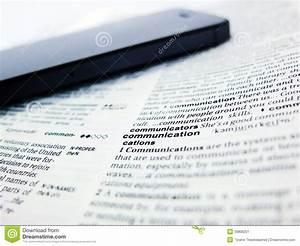 Word Communication Stock Image Image 33806251