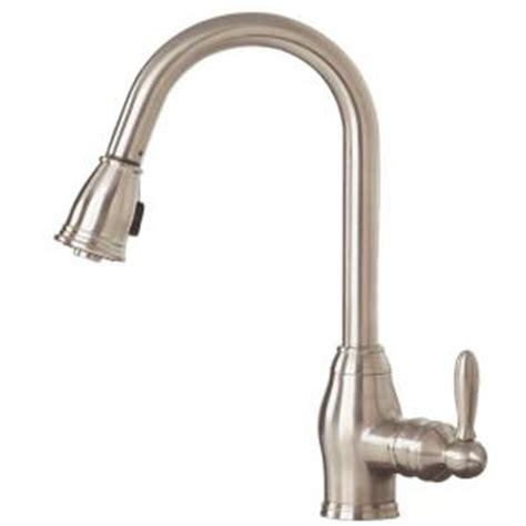 pegasus newbury 1 handle pull down sprayer kitchen faucet