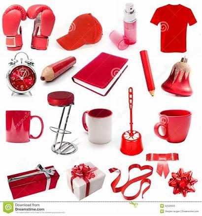 Objetos Rojo Objects Different Cor Vermelha Diferentes