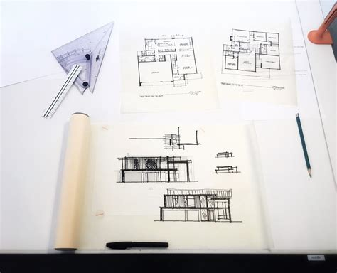 architectural drawings dwell