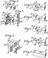 Burr Puzzle Wooden Puzzles Brandeis Cs Edu Storer Patents Brown Patent 1917 Figures Jimpuzzles Christmas sketch template