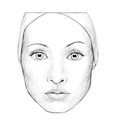 Gesicht Zeichnen Lernen  Proportion Und Tutorial