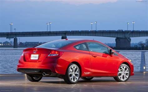 Civic Si Coupe by Honda Civic Si Coupe 2012 Widescreen Car Photo 05