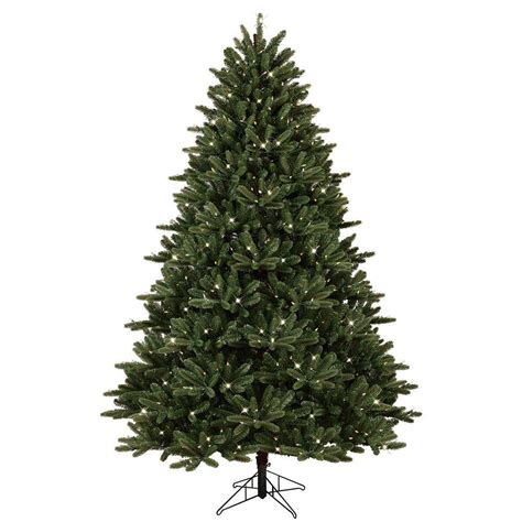 7 5 ft christmas tree with 1000 lights ge 7 5 ft pre lit led just cut frasier fir artificial