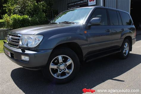 voiture occasion  toyota land cruiser  places