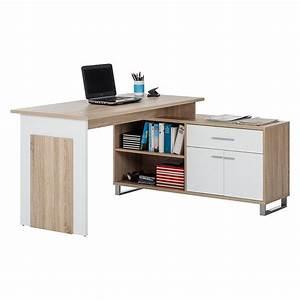 Schreibtisch Weiß Eiche : computertisch von home24office bei home24 bestellen home24 ~ A.2002-acura-tl-radio.info Haus und Dekorationen