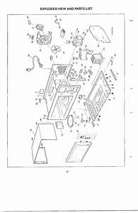 Exploded View And Parts List Diagram  U0026 Parts List For