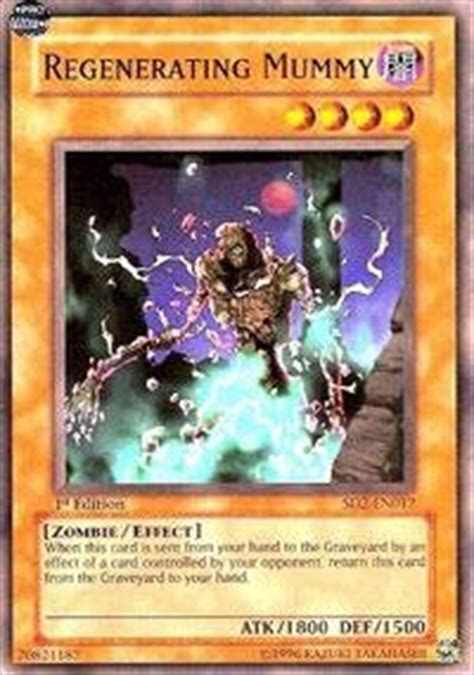 amazon com yu gi oh regenerating mummy sd2 en012