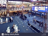 People at Vancouver International Airport YVR arrivals ...
