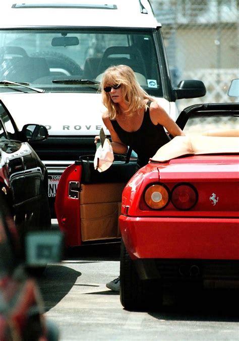 goldie hawn goldie hawn  stars cars  zimbio