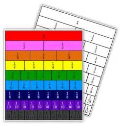 Free Printable Fraction Tiles