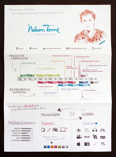 34 outside the box cv resume designs web graphic