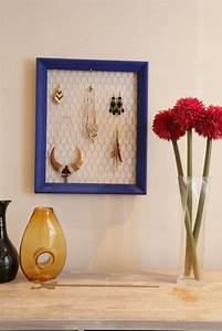 Fabriquer Un Porte Bijoux : fabriquer un porte bijoux en grillage poule d conome ~ Melissatoandfro.com Idées de Décoration