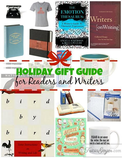 holiday gift guide for readers and writers