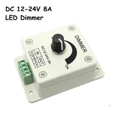led dimmer switch with fan control aliexpress com buy free shipping dc12 24v led dimmer
