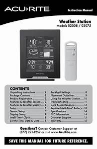How To Reset Rain Total On Acurite Weather Station