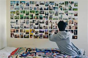 Diy photo wall ideas without frames : Photo wall collage without frames layout ideas