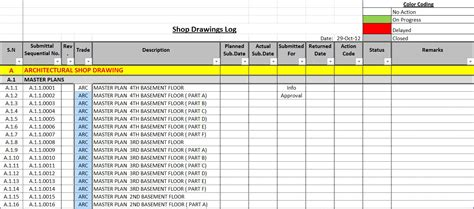 submission tracking spreadsheet db excelcom