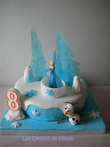 Gâteau Reine Des Neiges : g teau la reine des neiges frozen cake les d lices de mimm ~ Farleysfitness.com Idées de Décoration