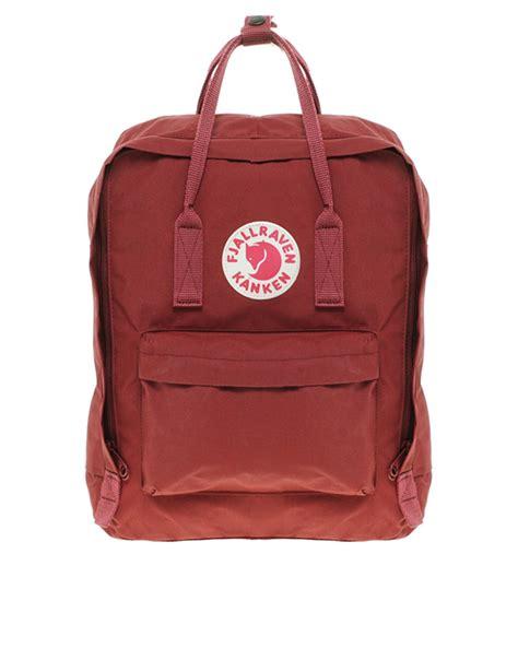 Lyst - Fjallraven Kanken Backpack in Red for Men