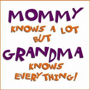 Granddaughter S... Grandma Sick Quotes