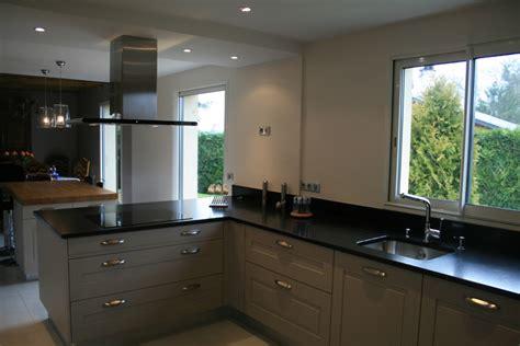 cuisine noir et grise cuisine gris noir deco cuisine gris et noir 48 aulnay sous bois platre surprenant deco chambre