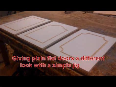 giving plain flat doors      simple jig