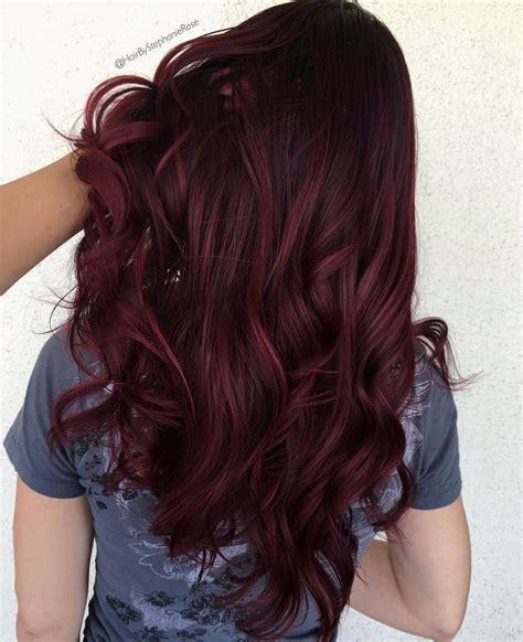 shades  burgundy hair color wine hair color wine hair