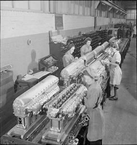 Rolls Royce  U0026quot Merlin Engine U0026quot  Mk 100 Cylinders Travel