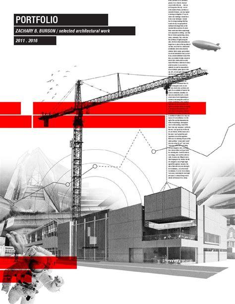 Architecture Portfolio 2016 By Zachary B Burson Issuu