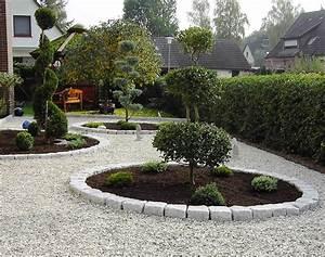 Gartengestaltung Mit Steinen : gartengestaltung mit kies und steinen modern nowaday garden ~ Watch28wear.com Haus und Dekorationen